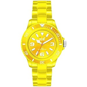 CS.YW.B.P.10 Ice Classic Solid Yellow Dial Plastic Strap Men's Watch CSYWBP10|abareusagi-usa