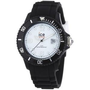 SIBWUS10 Ice Men's SIBWUS10 Ice-White White Dial with Black Bracelet Watch|abareusagi-usa