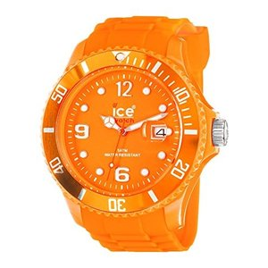 SS.FO.B.S.11 Ice-Watch Ice-Summer Sili Collection Polyamide and Silicone Orange Mens Watch SS.FO.B.S.11|abareusagi-usa