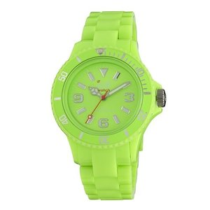 CF.GN.U.P 10 Ice-Watch Unisex CF.GN.U.P.10 Classic Fluo Green Polycarbonate Watch|abareusagi-usa