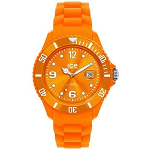 SI.OE.B.S.09 Ice-Watch Men's SI.OE.B.S.09 Sili Collection Orange Plastic and Silicone Watch|abareusagi-usa