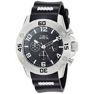 22696 Invicta Men's Pro Diver Stainless Steel Quartz Watch with Silicone Strap, Black, 0.92 (Model: 22696) abareusagi-usa