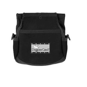 Doggone Good Rapid Rewards Deluxe Dog Training Bag with Belt (Black)|abareusagi-usa