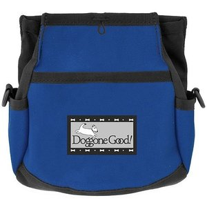 Rapid Rewards Deluxe Dog Training Bag with Belt by Doggone Good! (Blue)|abareusagi-usa