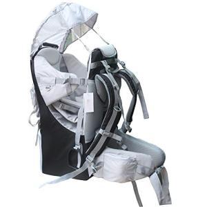 Medium TeckCool_Store New Baby Toddler Hiking Backpack Carrier Stand Child Kid Sunshade Visor Shield Shield (black)|abareusagi-usa