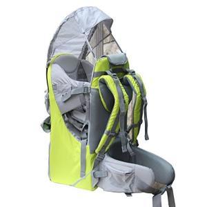 Medium New Baby Toddler Hiking Backpack Carrier Stand Child Kid Sunshade Visor Shield Shield (green)|abareusagi-usa
