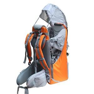 Medium New Baby Toddler Hiking Backpack Carrier Stand Child Kid Sunshade Visor Shield Shield (orange)|abareusagi-usa