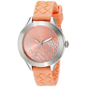10018338 Tommy Bahama  Women's 10018338 Waikiki Reef Stainless Steel Watch with Orange Silicone Band|abareusagi-usa