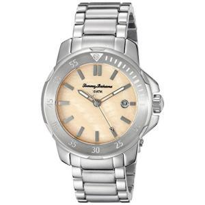 10018298 Tommy Bahama Women's 10018298 Laguna Analog Display Japanese Quartz Silver Watch|abareusagi-usa
