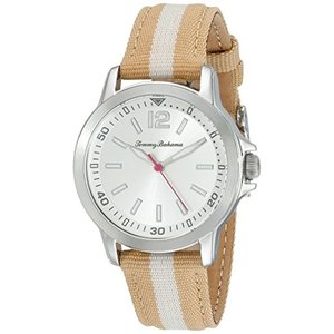10022440 Tommy Bahama RELAX Women's 10022440 Island Breeze (Air) Stainless Steel Watch with Beige Nylon Band|abareusagi-usa