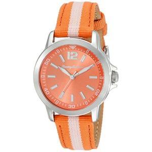 10018371 Tommy Bahama RELAX Women's 10018371 Island Breeze (Air) Stainless Steel Watch with Orange Nylon Band|abareusagi-usa