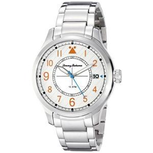 10022437 Tommy Bahama  Men's 10022437 Island Scout Analog Display Japanese Quartz Silver Watch|abareusagi-usa