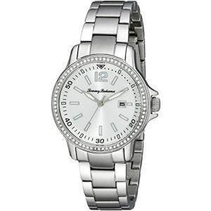 10018326 Standard Tommy Bahama  Women's 10018326 Island Breeze Analog Display Japanese Quartz Silver Watch|abareusagi-usa