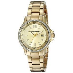 10018328 Tommy Bahama  Women's 10018328 Island Breeze Analog Display Japanese Quartz Gold Watch|abareusagi-usa