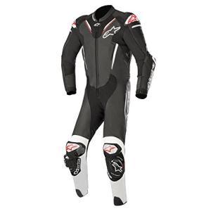 3156518 50 Alpinestars Atem V3 Men's 1-Piece Street Race Suits - Black/White / 50 abareusagi-usa