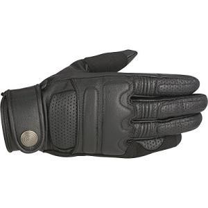10009926 X-Large Alpinestars Robinson Men's Street Motorcycle Gloves - Black/X-Large|abareusagi-usa