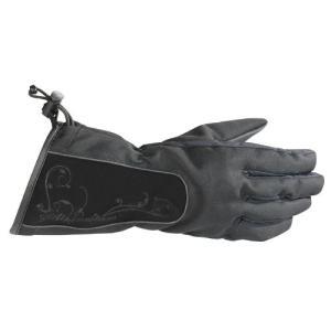Medium Alpinestars Stella Women's Messenger Drystar Gloves (MEDIUM) (BLACK)|abareusagi-usa