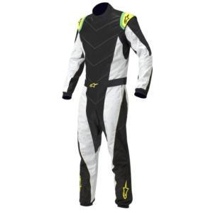 3353012-159-40 Size 40 Alpinestars (3353012-159-40 Black/Silver/Yellow/Fluorescent Size-40 K-MX 5 Kart Suit abareusagi-usa