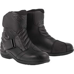 3401-0199 5 Alpinestars Gunner Waterproof Men's Street Motorcycle Boots (Black, EU Size 38) abareusagi-usa