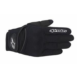 1694200105 2X-Large Alpinestars Spartan Men's Street Motorcycle Gloves - Black / 2X-Large|abareusagi-usa
