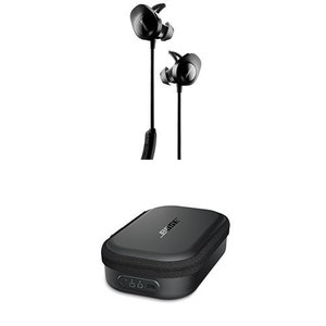Bose SoundSport Wireless Headphones, Black + Charg...
