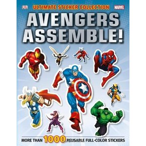 Ultimate Sticker Collection: Marvel Avengers: Aven...