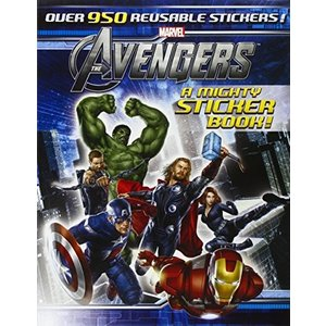 The Avengers: A Mighty Sticker Book (A Sticker-Act...