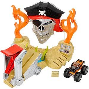 DJK63 Hot Wheels Monster Jam Pirate Takedown Play ...