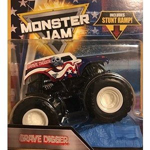 Hot Wheels Monster Jam 2018 Stars and Stripes Grave Digger 1:64 Scaledの商品画像|ナビ