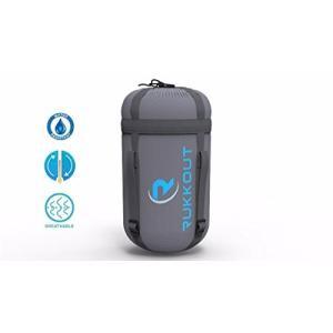RUKKOUT Lightweight Envelope Sleeping Bag Water Resistant 3 Season Bag for Camping, Hiking and Backpacking -Ideal for Outdoor Acti abareusagi-usa