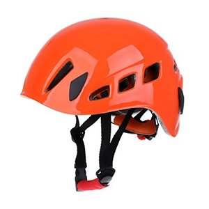 Adjustable Safety Helmet Climbing Caving Rappelling   Protector White