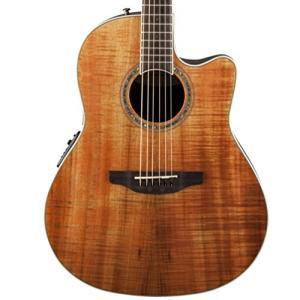 CS24P-FKOA Ovation CS24P-FKOA Acoustic-Electric Guitar, Figured Koa abareusagi-usa