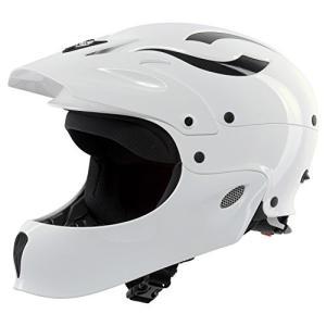 845027 Large/X-Large Sweet Protection Rocker Fullface Paddle Helmet, Gloss White, Large/X-Large|abareusagi-usa