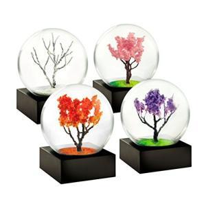 CS278_MINI Mini Seasons set of 4 Snow Globes by CoolSnowGlobes abareusagi-usa