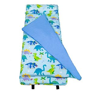 28408 OK Nap Mats Wildkin Nap Mat with Pillow for Toddler Boys and Girls, Perfect Size for Daycare and Preschool, Designed to Fit abareusagi-usa
