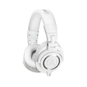 AUD ATHM50XWH ATH-M50X Audio-Technica ATH-M50xWH Professional Studio Monitor Headphones, White|abareusagi-usa