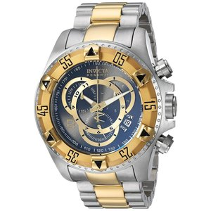 Invicta Men's Connection Quartz Watch with Stainless-Steel Strap, Two Tone, 26 (Model: 24732) abareusagi-usa
