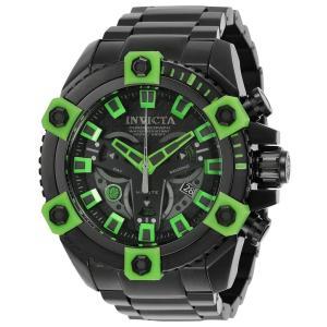 Invicta Men's 25487 Marvel Quartz 3 Hand Black Dial Watch abareusagi-usa