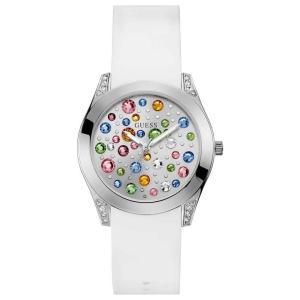 Watch Guess W1059L1 Woman Multicolor Silicone Quartz abareusagi-usa