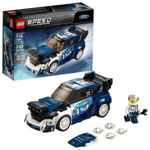 LEGO Speed Champions Ford Fiesta M-Sport WRC 75885 Building Kit (203 Pieces) abareusagi-usa