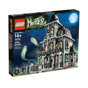 LEGO Monster Fighters Haunted House Halloween Minifigure - Frankenstein Butler with Tray (10228) abareusagi-usa