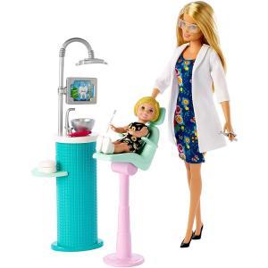バービーキャリア デンティストドール&プレイセット 歯医者さん ディスプレイやプレゼントに FXP16 ケリー即納|abareusagi-usa