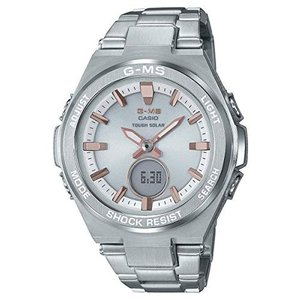 OSFA Ladies' Casio Baby-G G-MS Stainless Steel Watch MSGS200D-7A|abareusagi-usa