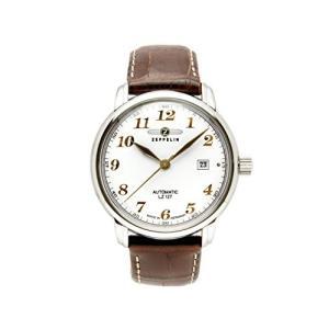 Zeppelin LZ127 Graf Zeppelin Automatic Men's Analog Date Watch Brown Strap 7656-1|abareusagi-usa