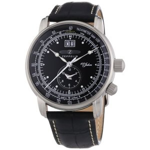 Graf Zeppelin Big Date, Dual Time Watch 7640-2|abareusagi-usa