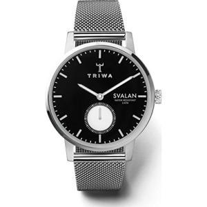 Triwa Ebony Svalan Watch   Steel Mesh Super Slim abareusagi-usa