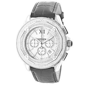 Mens Diamond Bezel Watch by Centorum Falcon 0.55ct|abareusagi-usa