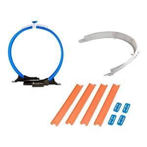 Hot Wheels Workshop Track Builder Loop, Curve, Str...