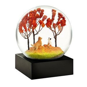CoolSnowGlobes Autumn Pals Cool Snow Globe|abareusagi-usa