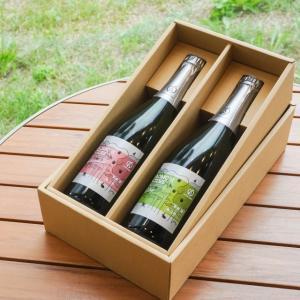 内祝い お酒 プレゼント ギフト アオモリシードル 750ml 2本セット  化粧箱付|abc-afactory